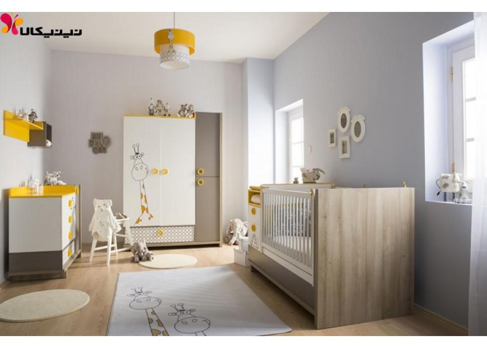 سرویس خواب نوزاد و نوجوان آمیساچوب مدل زبرا