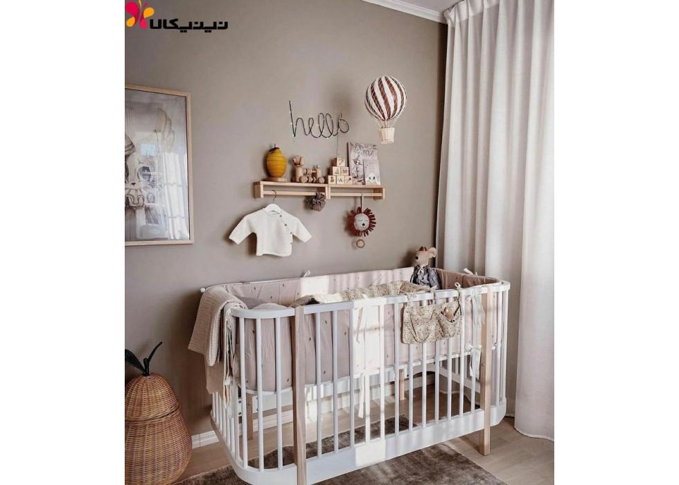 تخت نوزاد کنار مادر آمیساچوب مدل ویشکا