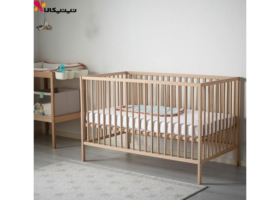 تخت نوزاد و کنار مادر آمیساچوب مدل ایکیا