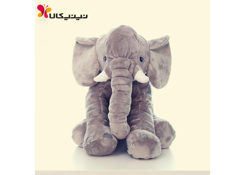 فیل بالشتی بازی و خواب نوزاد سایز متوسط