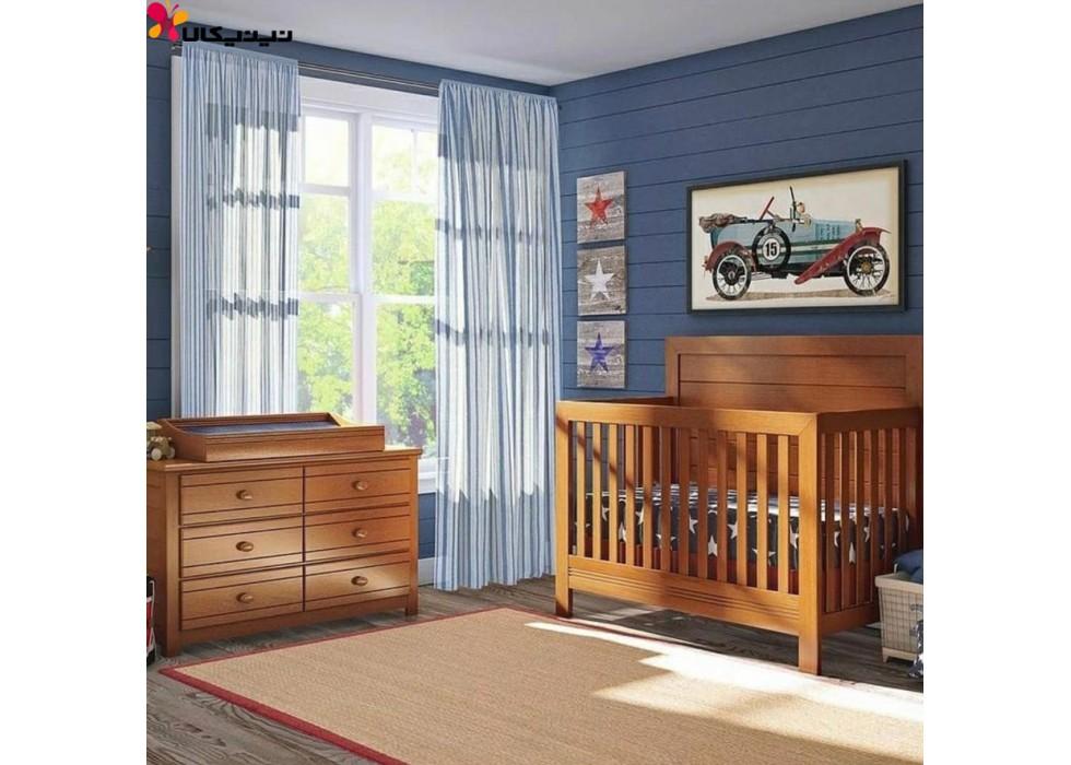 تخت و دراور نوزاد آمیساچوب مدل دبورا