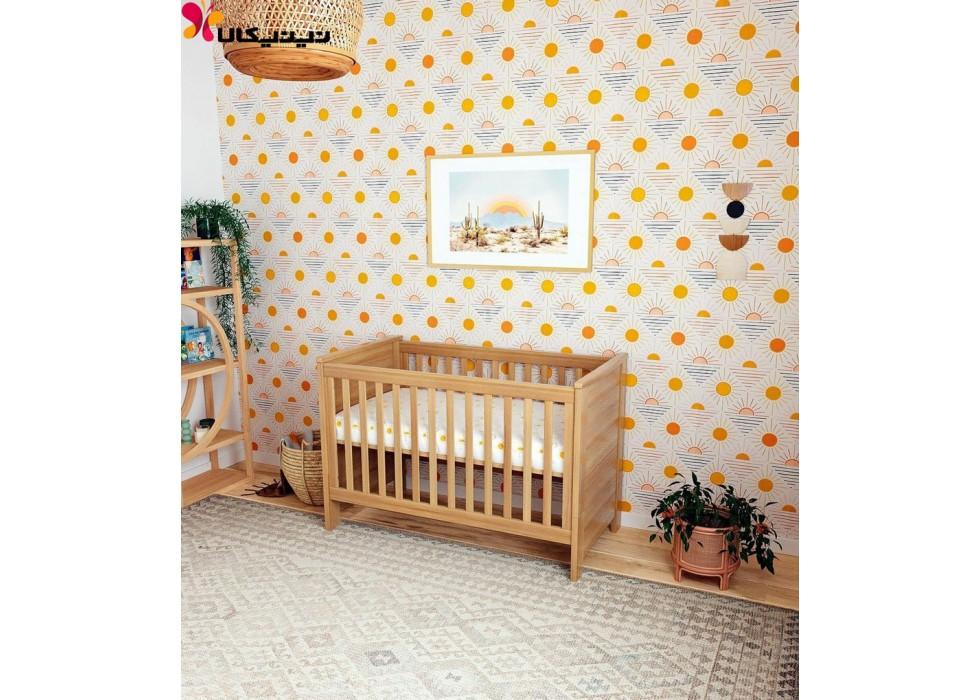 تخت چوبی نوزاد آمیساچوب مدل هایما