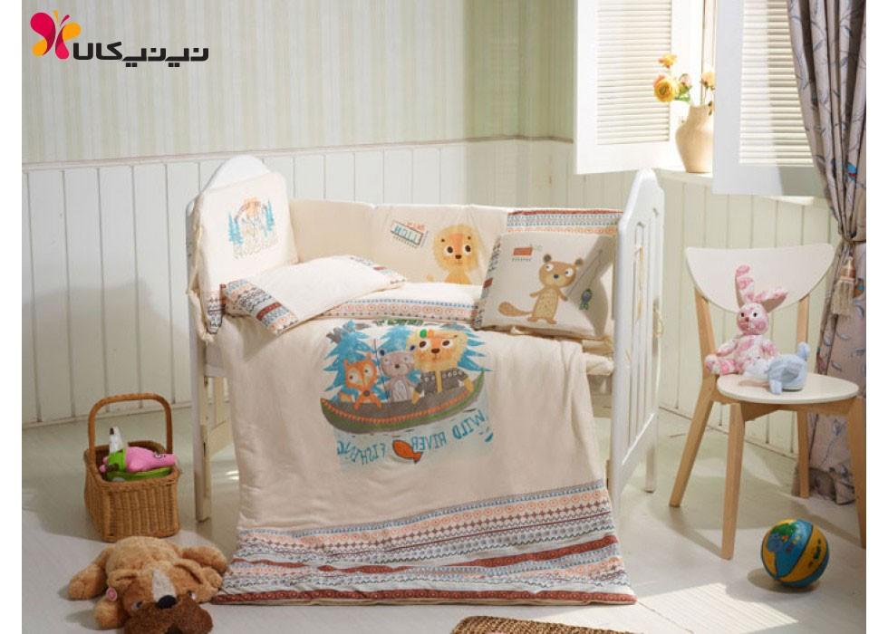 سرویس خواب تخت نوزاد نوجوان برند CarterLiebe-کد D14-312