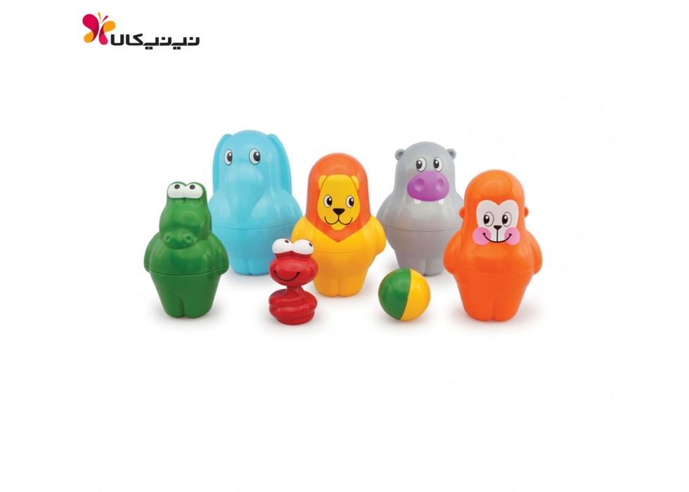 اسباب بازی بولینگ حیوانات تولو-Tolo کد 89412