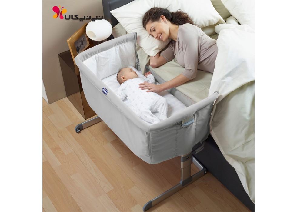 تخت نوزاد کنار مادر مدل next 2 me چیکو Chicco