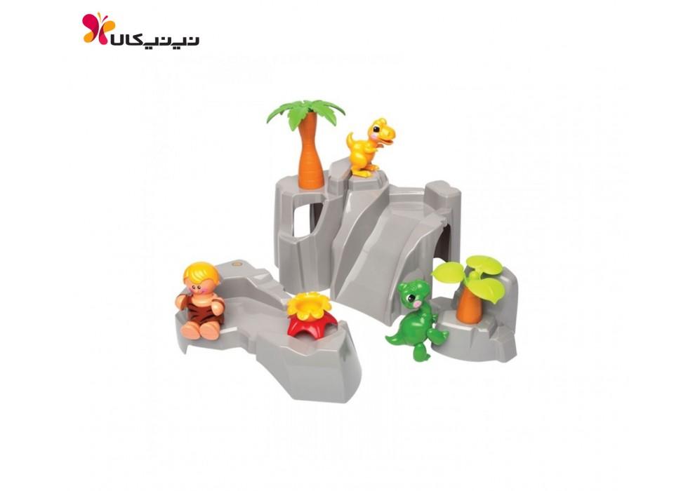 اسباب بازی ست کوه و دایناسور برند تولو TOLO _  کد 87359