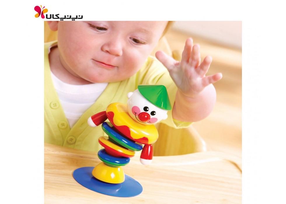 دلقک متحرک صندلی غذاخوری کودک تولو کد 89520