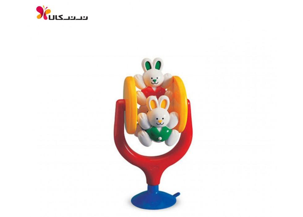 اسباب بازی خرگوش های چرخان کودک تولو کد 89121