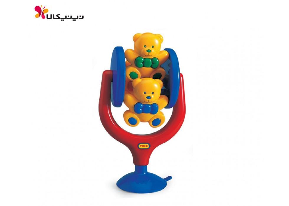 اسباب بازی خرس های چرخان کودک تولو کد 89120