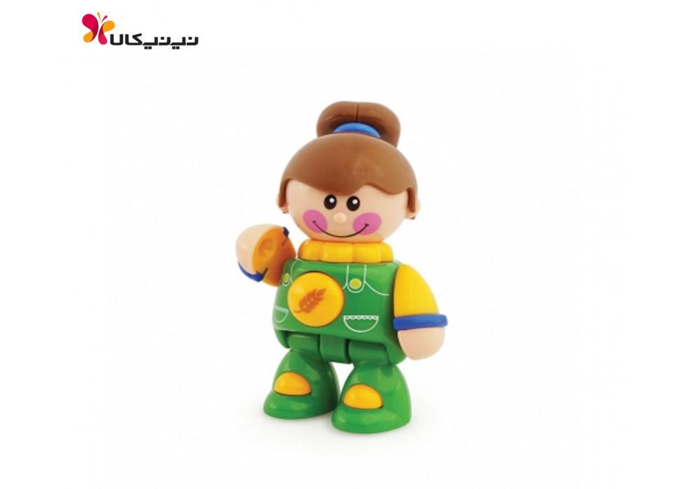 اسباب بازی عروسک دختر مزرعه تولو کد87471