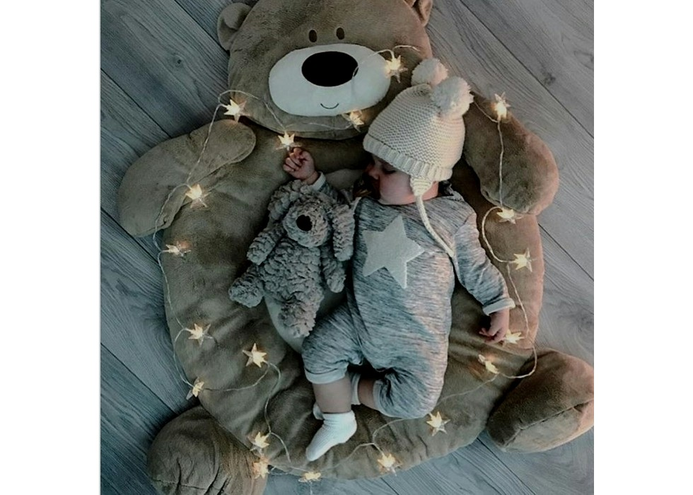 تشک نوزاد طرح خرس نیکابدز nikabeds