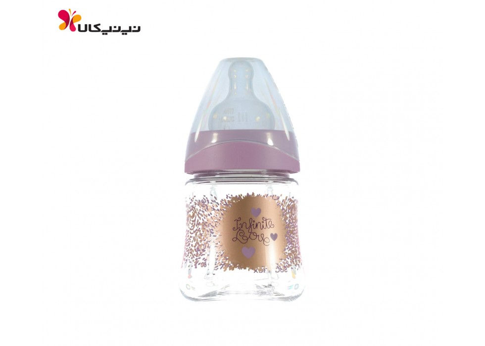 شیشه شیر 150 میل 0+ ماه دخترانه سواوینکس-suavinex