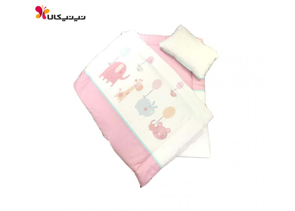 سرویس خواب 3 تکه مسافرتی نوزاد برند آلدیانا-Aldiana
