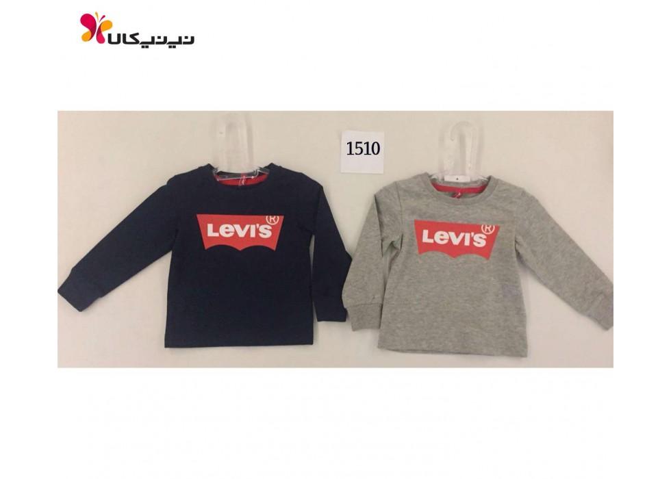 تی شرت بچه گانه پسرانه آستین بلند لیوایز-Levi's مدل 1510