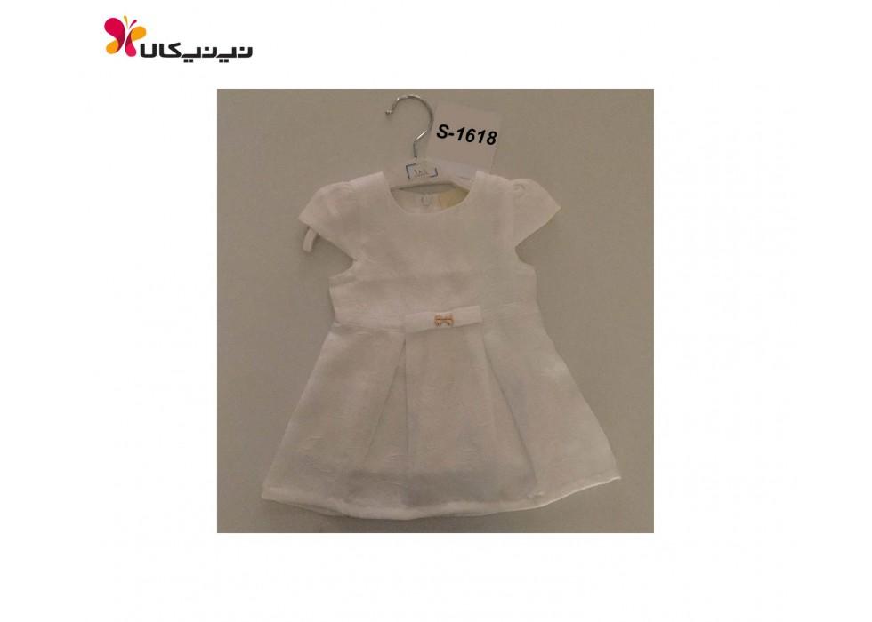 سارافون عروسکی سفید دخترانه برث بی بی-Birth Baby مدل S-1618