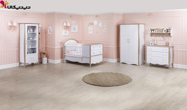 تخت دو منظوره نوزاد و نوجوان آپادانا مدل پارادایس