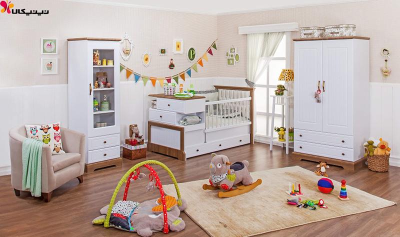 کمد دو درب نوزاد و نوجوان آپادانا مدل پابلو