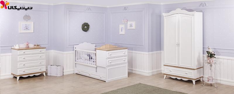 سرویس خواب نوزاد و نوجوان آپادانا مدل رونیکا