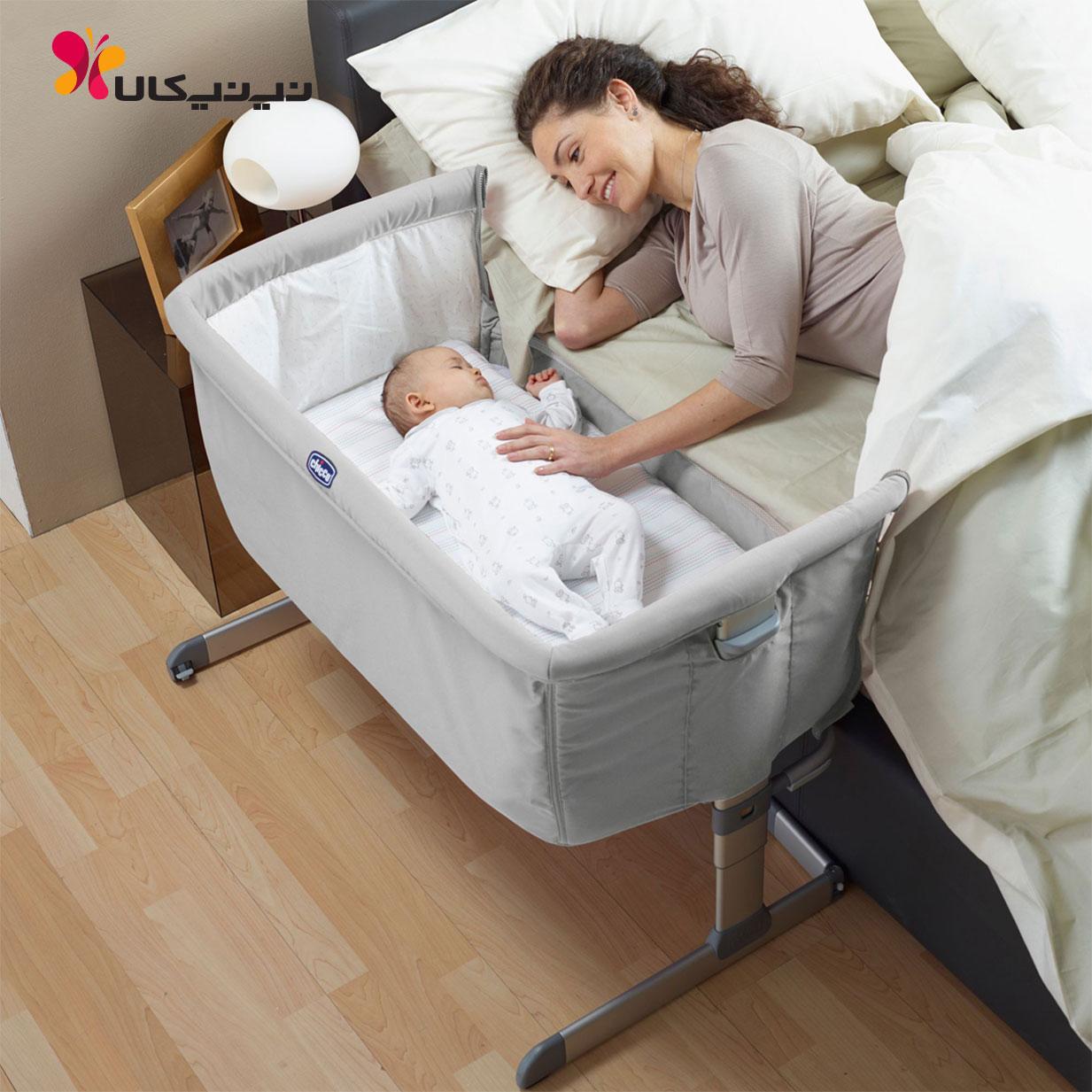تخت نوزاد کنار مادر مدل Next 2 Me چیکو Chicco نی نی کالا